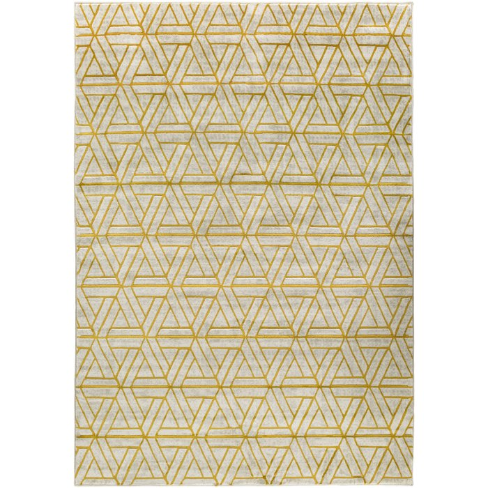 Gray & Yellow Rug Sumptuous Living Home Decor