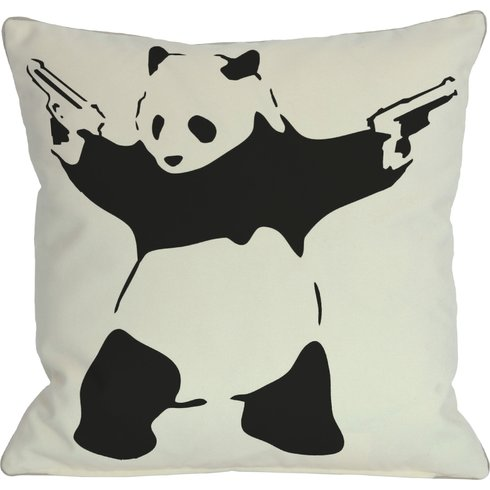 Panda+Throw+Pillow Sumptuous Living Home Decor