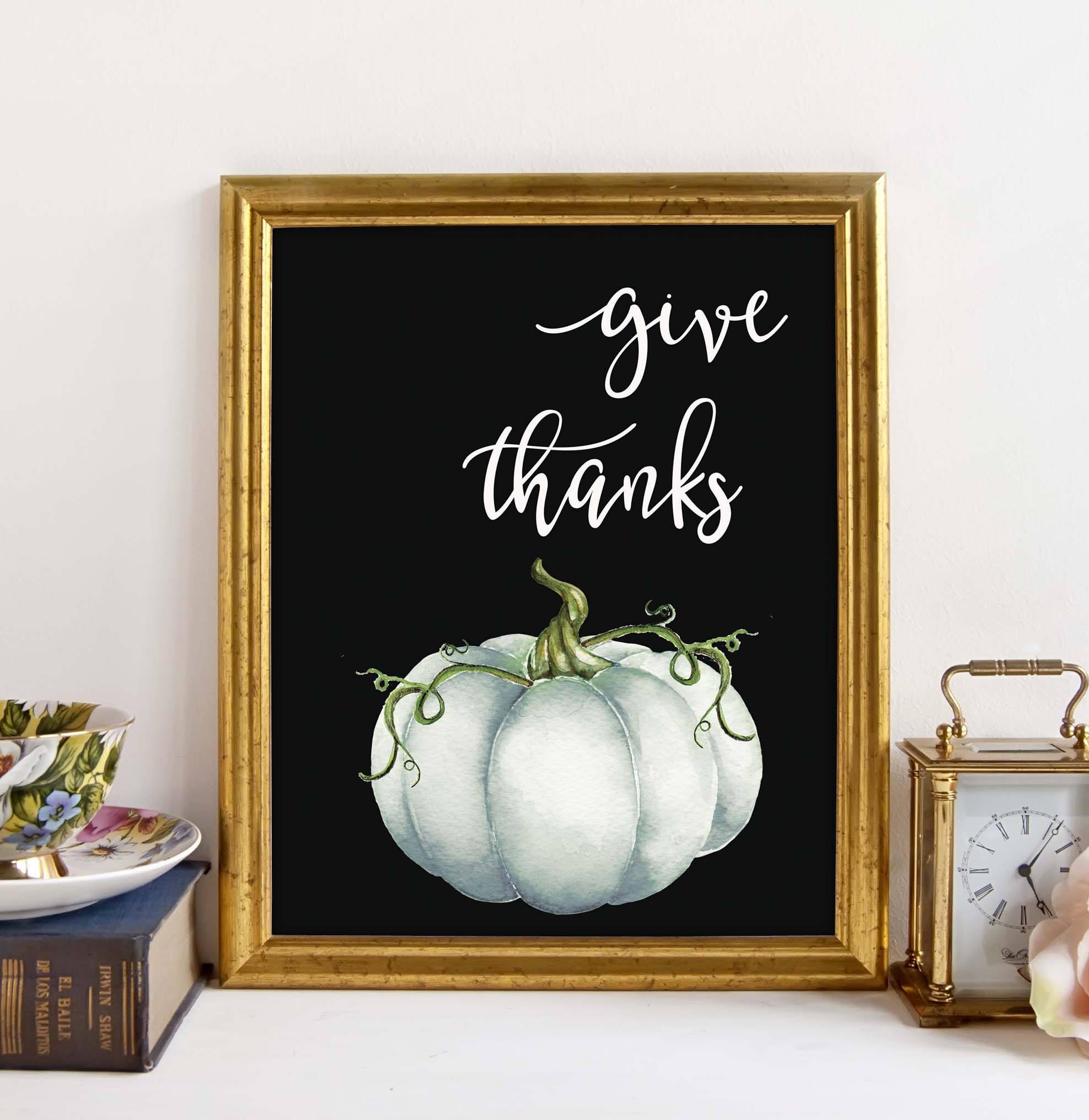 Pumpkin Art Print Sumptuous Living Seasonal Goodies