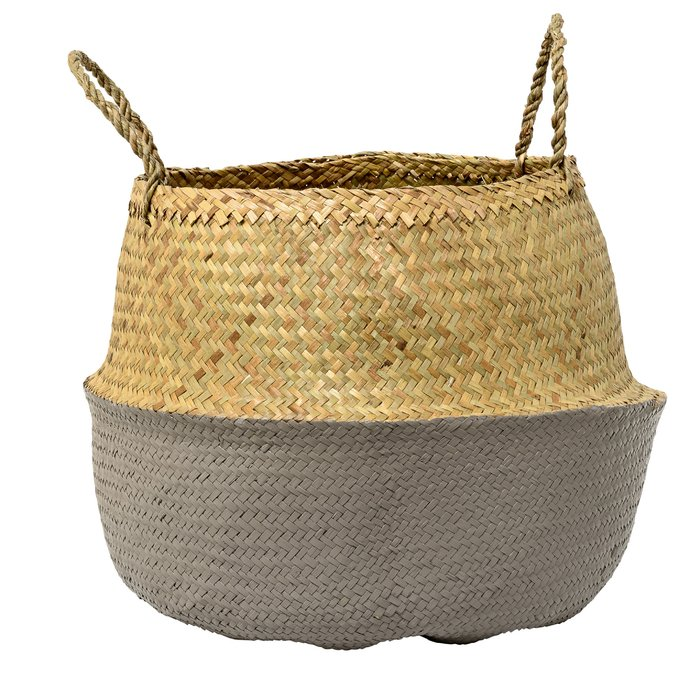 Seagrass+Basket+with+Handles sumptuous living home decor