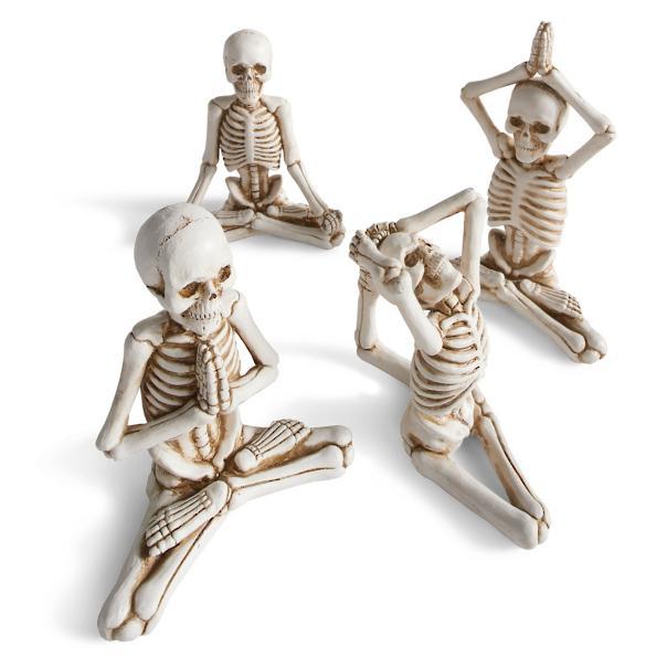 Skeleton yoga Sumptuous Living Seasonal Goodies