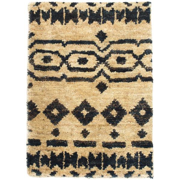 Taza Hand Knotted Jute Rug Sumptuous Living Home Decor