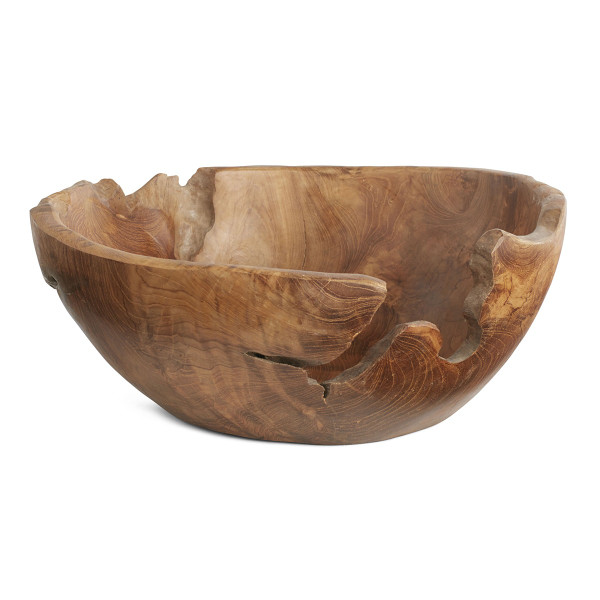 Teak Root Bowl Sumptuous Living Home Decor
