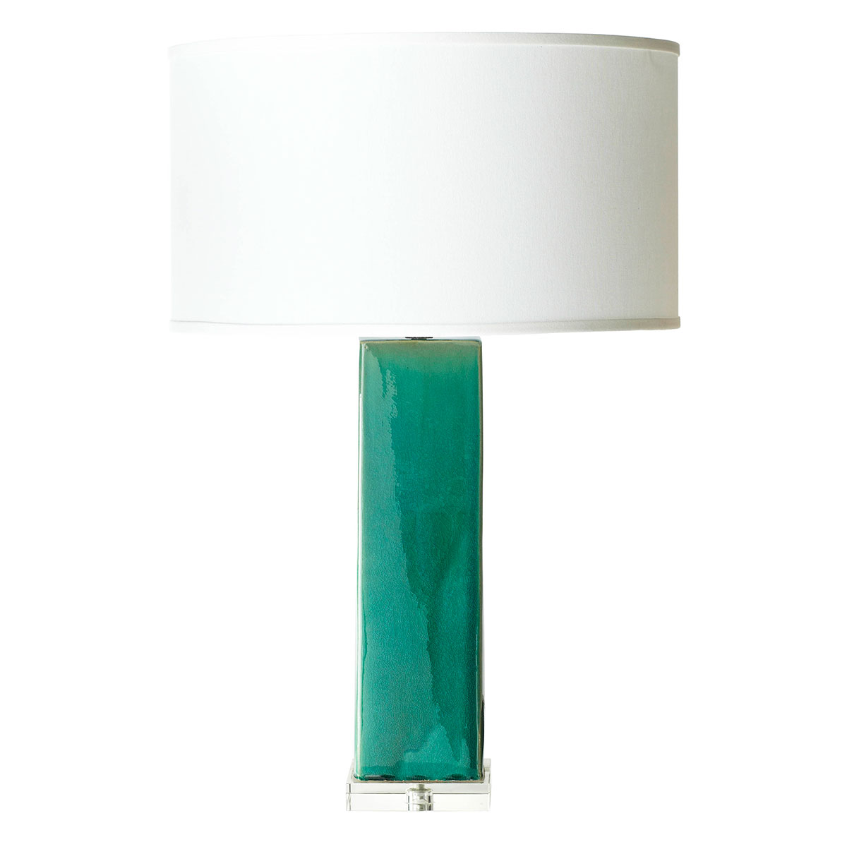 Teal Lamp Sumptuous Living Home Decor