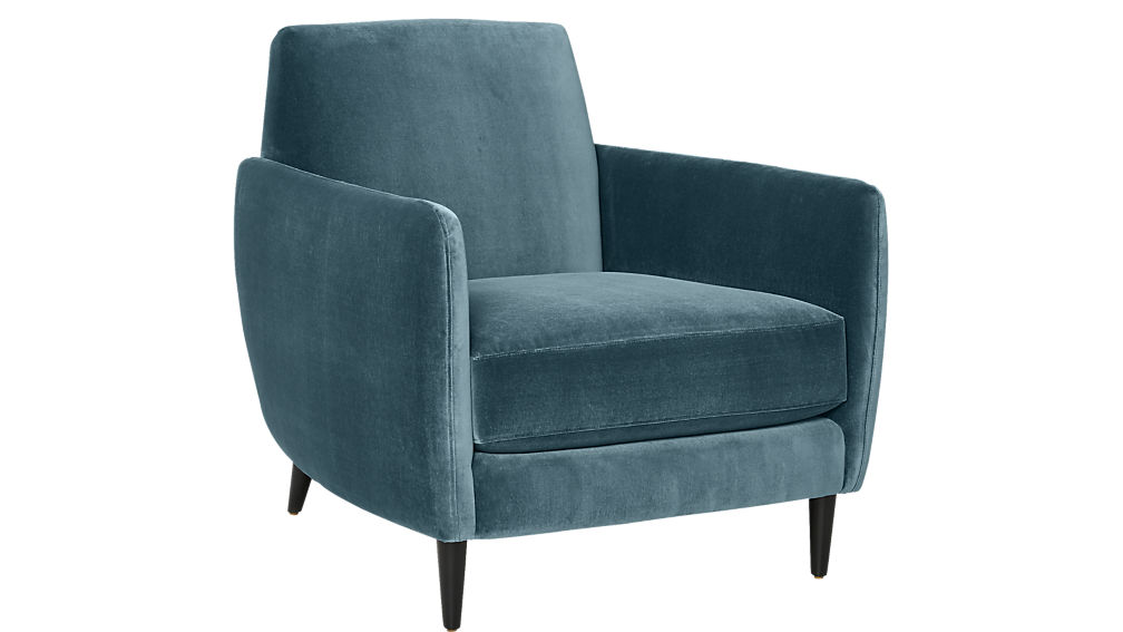 Teal Parlour Chair Sumptuous Living Home Decor