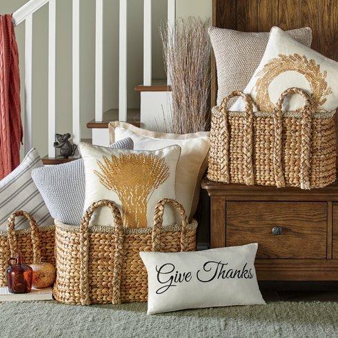 Wayfair Handled Storage Basket Sumptuous Living Seasonal
