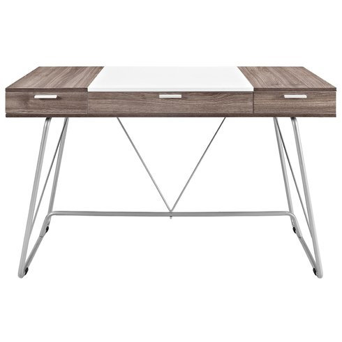White and Grey Wood Desk sumptuous living home decor