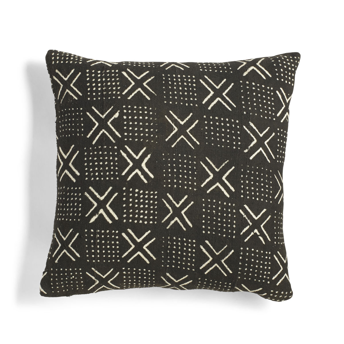black mudcloth pillow Sumptuous Living home Decor
