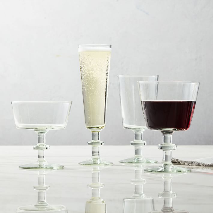 modern glassware west elm sumptuous living drink shop
