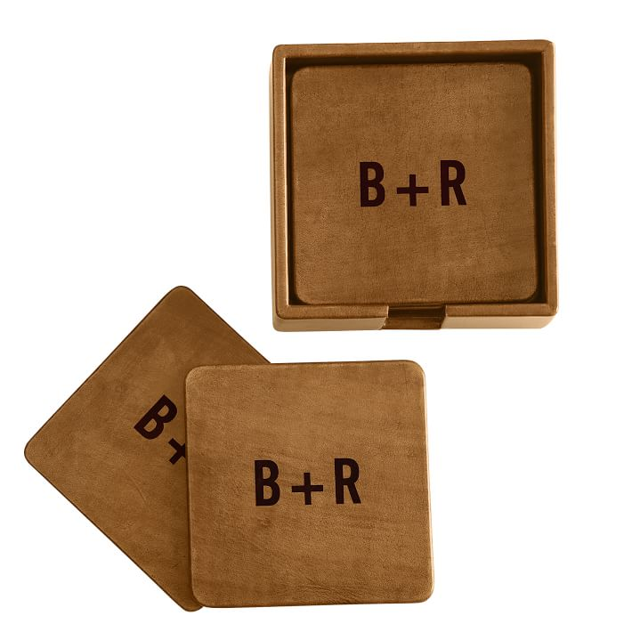leather coasters mark graham sumptuous living drink shop