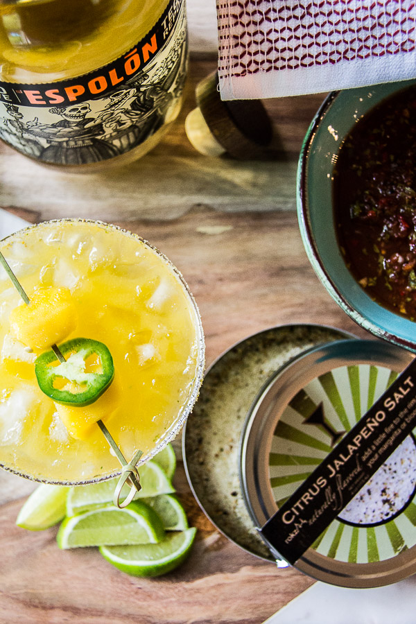 mango margarita with jalapeno 2