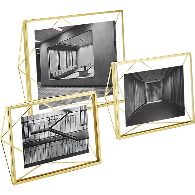 prisma-gold-frames Sumptuous Living Home Decor