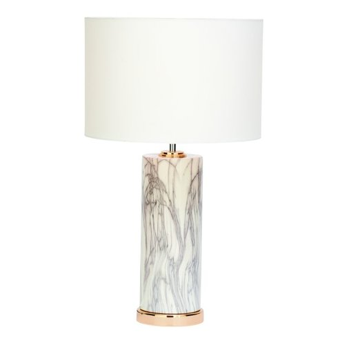 white marbled table lamp Sumptuous Living Home Decor