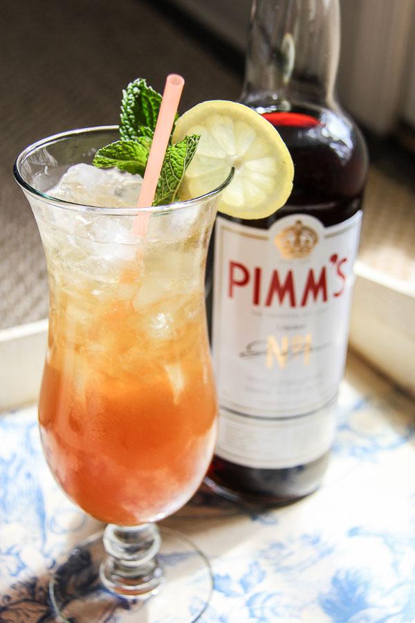 pimm's mojito cocktail 1