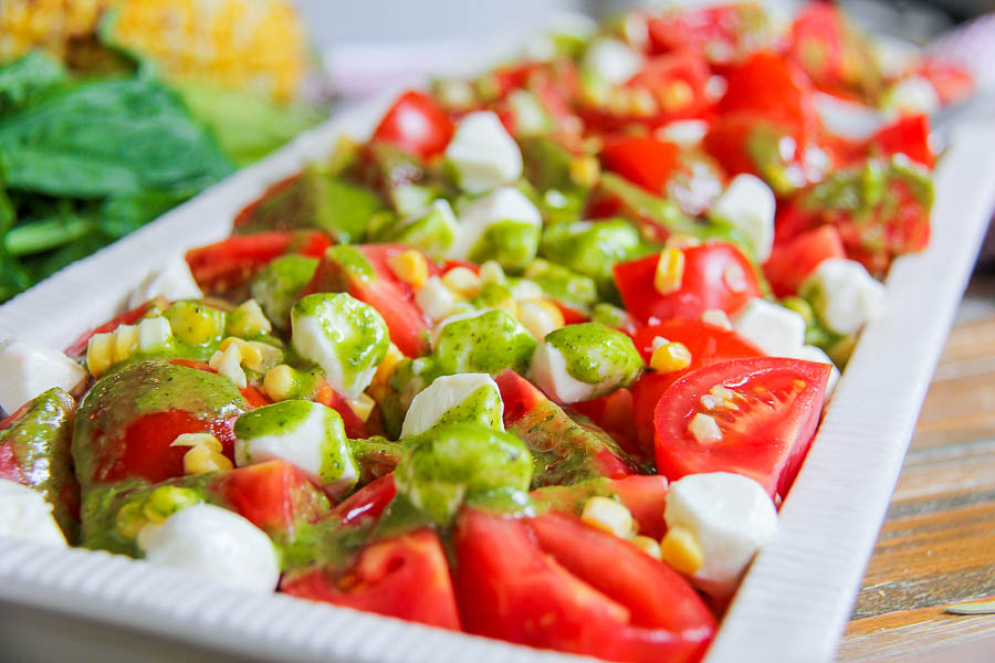 Summertime Favorite Tomato Corn Salad