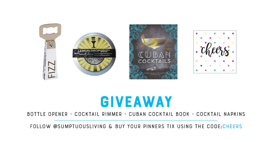 Pinners conference arizona giveaway cocktail -1