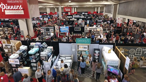 pinners conference arizona giveaway floor