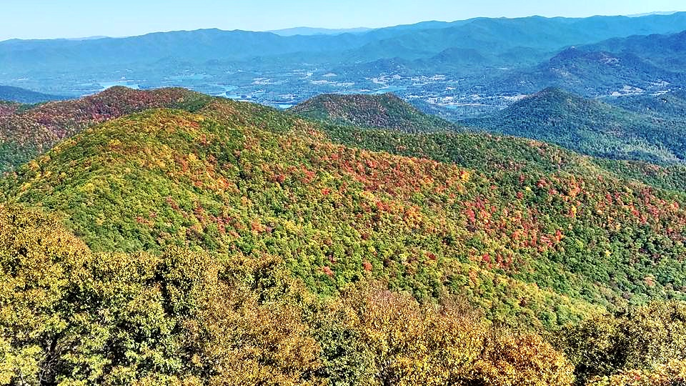 fall day trips from atlanta brasstown bald