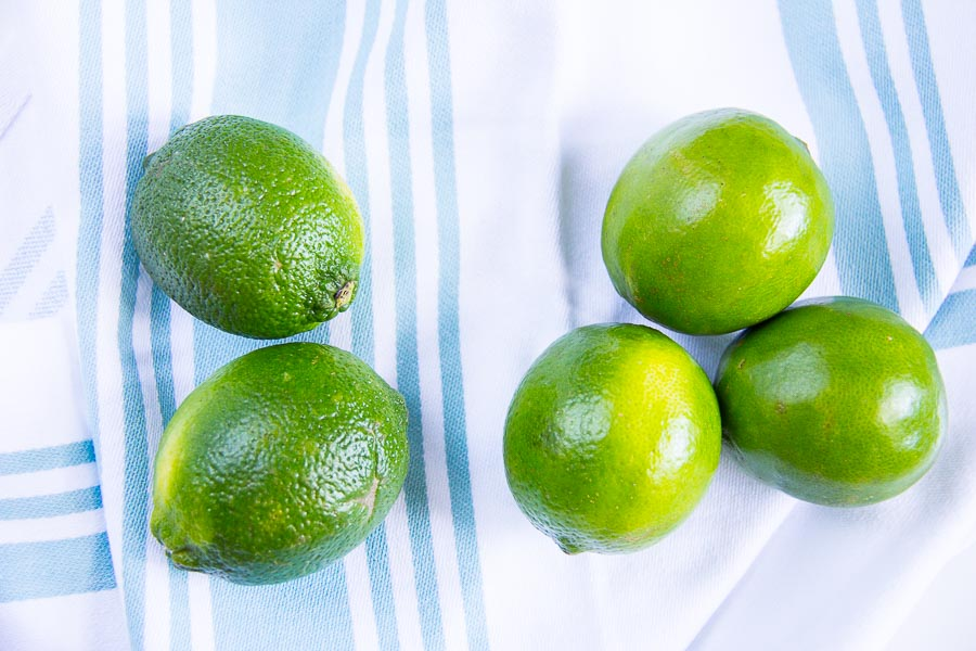 limes for mango habanero limeade-2