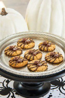 Halloween Spider Cookies-31