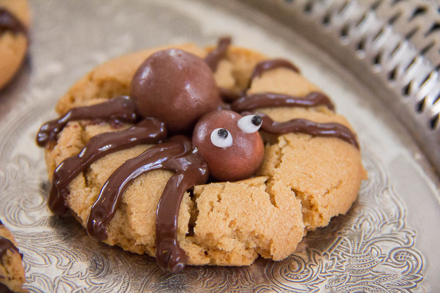 Halloween Spider Cookies-39