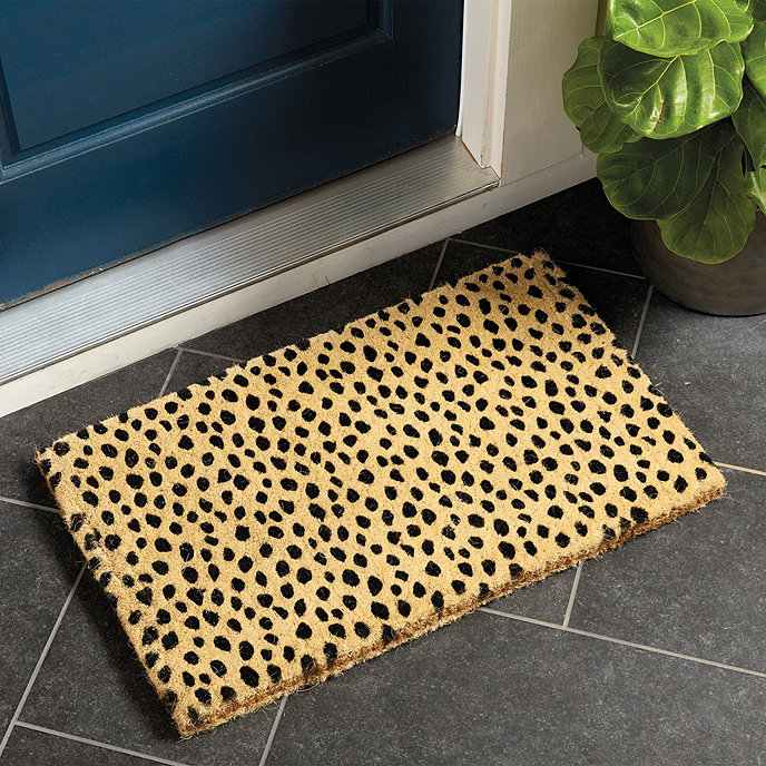 Ballard Dodie Door Mat Spring Decor Sumptuous Living