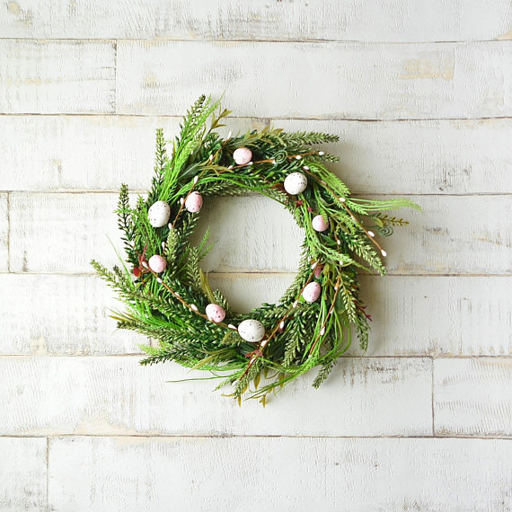 Etsy Easter Wreath Easter Decor Sumptuous Living