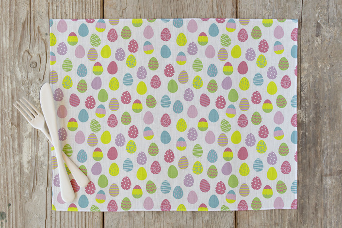 Minted Egg hunt Placemat Easter Decor Sumptuous Living