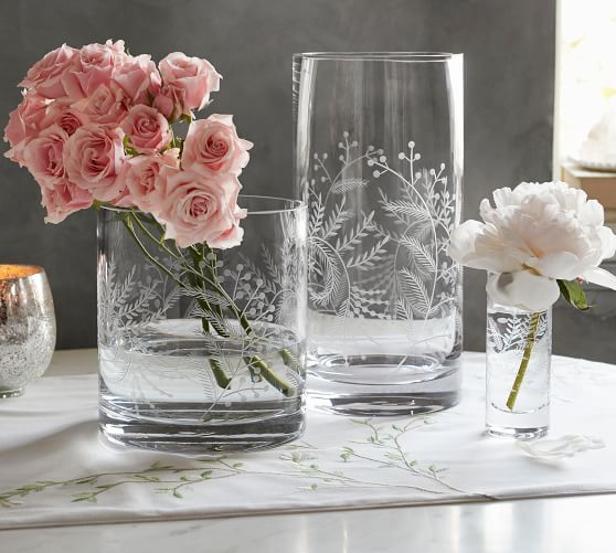 PB monique-lhuillier-floral-etched-glass-vases Spring Decor Sumptuous Living