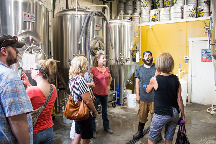 brhamari best asheville brewery tour