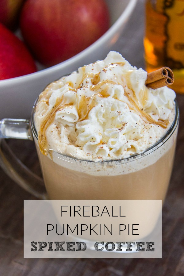 Fireball Pumpkin Pie Spiked Coffee