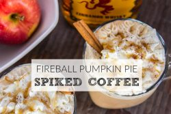 Fireball Pumpkin Pie Coffee WITH TITLE