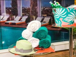 Beverly Hills Hotel Pool Party towels